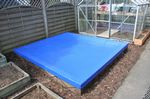 Blue Sand Pit Cover - 3020mm x 2750mm x 100mm